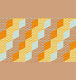 rhombus and stripes geometric seamless pattern vector image