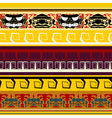 Seamless traditional Indian pattern vector image