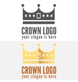 Set of logo labels badges emblems or logotype vector image
