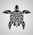Tribal Turtle vector image vector image
