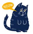 cat 001 vector image vector image