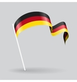 Germany wavy flag vector image