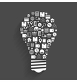 Internet shopping innovation idea concept vector image vector image