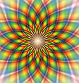 Rainbow tile vector image