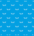 rock pattern seamless blue vector image vector image