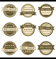 stickers sales vector image vector image