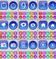 Stopwatch Nine Five Dislike Chat bubble House vector image vector image