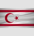 turkish republic flag flag of turkish republic vector image