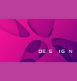 abstract futuristic gradient background vector image