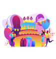 birthday party concept vector image