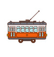 tram car vector image
