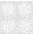 White festive seamless pattern vector image