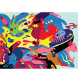 Abstract graffiti characters vector image vector image