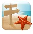 app icon for web applica vector image vector image