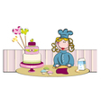 cakedesign vector image
