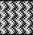 geometrical seamless dot pattern background vector image vector image