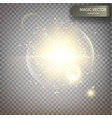 magic luminous background vector image vector image