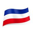 national flag of former state yugoslavia blue vector image vector image