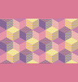 pastel violet and ivory seamless pattern vector image vector image