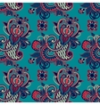vintage floral seamless paisley pattern vector image vector image