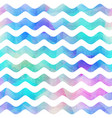 watercolor wave seamless pattern vector image vector image