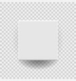 white blank package cardboard box icon in flat vector image