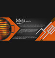 bbq banners vector image