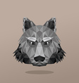 Animal Portrait With Polygonal Geometric Design vector image vector image