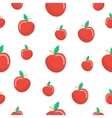 Apples Fruit Seamless Pattern vector image vector image