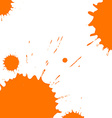 blots and splashes vector image vector image