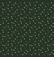 camouflage dots background green seamless pattern vector image