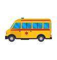 ambulance emergency car medicine health vector image vector image