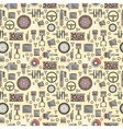 auto spare parts seamless pattern vector image vector image