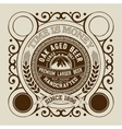Beer design for label and packaging vector image vector image