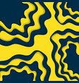 blue and yellow paper cut wallpaper vector image