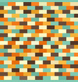 brick pattern retro seamless brick wall vector image vector image
