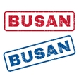 Busan Rubber Stamps vector image vector image