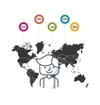 community people of the world vector image vector image