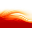 fire flame abstract wave background vector image vector image