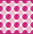 fun summery pink scribble dots pattern background vector image vector image
