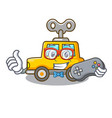 gamer cartoon clockwork toy car for gift vector image