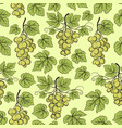 grape seamless background vector image vector image