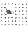grass-cutter icon spring icon vector image