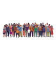 large group people vector image vector image