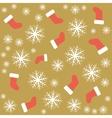 seamless christmas pattern vector image vector image