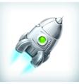 Spacecraft icon vector image vector image