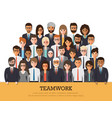 working people vector image vector image