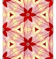 Vintage ornamental seamless pattern vector image