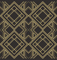 abstract art deco seamless pattern 20 vector image