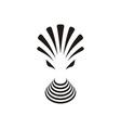 Alien creature icon vector image